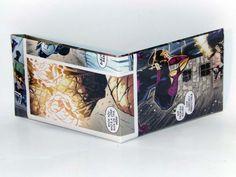 Comic Book Wallet// Shocker vs Superior Spider-Man, $4.00
