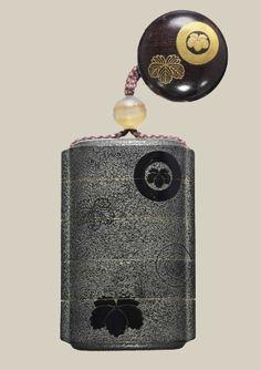 A Fine Four-Case Daimyo'sInro SignedOjo TsunayoshiandGyokusen, Edo Period (19th century), Japan Decorated in blackhiramaki-eon a...