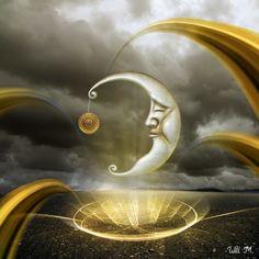 Lua Relíquia | Mais trabalhos aqui: http://paradoxidal.blogspot.com