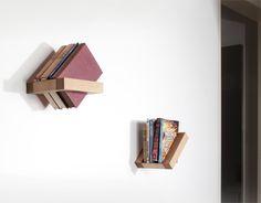 Frame bookshelf by Luka Pirnat, via Behance