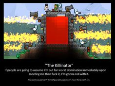 The Killinator Is Born. Terraria Players. by LittlewriterLink on DeviantArt