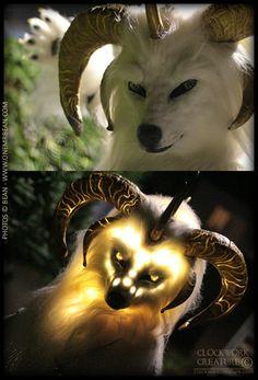 Glowing mask. GLOWING MASK! This is amazing work. Zaland by Qarrezel on deviantART