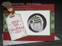 Suspension Card, Jolly Friends, 2016 Holiday Catalogue, Stampin' Up!, Yvonne Pree, Pree Designs, action video on Instragram-Pree Designs