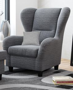 big longchair sessel megasessel xxl sessel ohrensessel grau big sofa design wohnzimmer. Black Bedroom Furniture Sets. Home Design Ideas