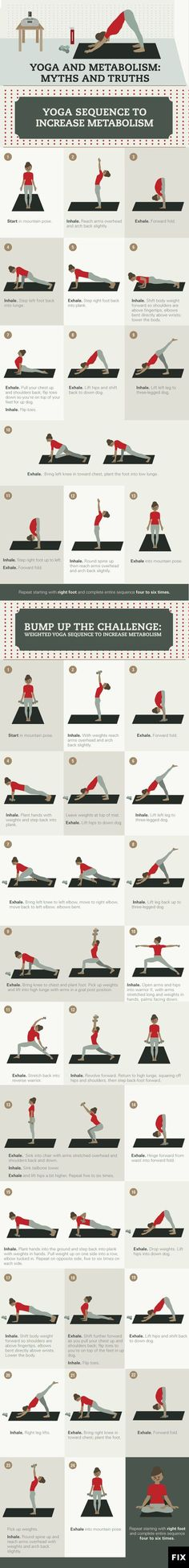 Find out which yoga poses will boost your metabolism throughout the day! #Yoga http://www.fix.com/blog/yoga-and-metabolism/