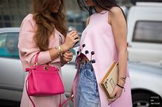 Pink obsession.