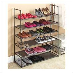 Storage Shoe Rack#rack #shoe #storage Storage Bin Shelves, Diy Shoe Storage, Wall Storage, Hidden Storage, Diy Wardrobe, Bedroom Wardrobe, Living Room Storage, Bedroom Storage, Diy Bedroom