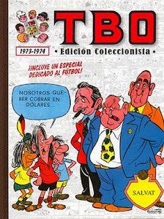 TBO 1973-1974 (Incluye un especial dedicado al fútbol).    Contenido:  TBO Extra Fútbol (1973).  Almanaque humorístico de TBO 1974.