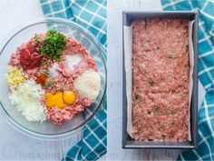 Classic Meatloaf Recipe topped with an amazing sauce. The meatloaf is so juicy and flavorful. Comfort food with a prep time. Best Easy Meatloaf Recipe, Homemade Meatloaf, Classic Meatloaf Recipe, How To Cook Meatloaf, Best Meatloaf, Meatloaf Recipes, Meat Recipes, Cooking Recipes, Meatloaf Sauce