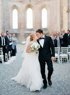 Intimate Destination Wedding in ancient ruins of San Galgano Ancient Ruins, Destination Wedding Photographer, Tuscany, Wedding Venues, San, Wedding Dresses, Fashion, Wedding Places, Bride Gowns