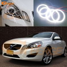 Cheap ring ring, Buy Quality ring led directly from China ring color Suppliers: For Volvo 2011 2012 2013 XENON HEADLIGHT Excellent Ultra bright Dual Color Switchback smd LED Angel Eyes kit halo rings Led Angel Eyes, Xenon Headlights, Volvo S60, Cheap Cars, Halo Rings, Car Lights, Buy Now, Automobile, Angeles
