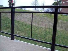 Commercial Cable Railing - modern - Fencing - Ultra-tec Cable Railing by The Cable Connection