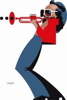 Opera Mundi - Charge do Carvall: Miles Davis, o reticente
