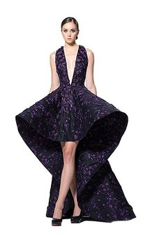kelaixiang V Neck Hi-Lo Stylish Dresses for Women's Evening Formal Party Quinceanera Dresses, Homecoming Dresses, Stylish Dresses, Formal Dresses, Women's Evening Dresses, Embroidery Dress, V Neck, Party, Fashion