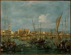 Venice from the Bacino di San Marco, Francesco Guardi
