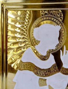 Fra Angelico, Halo, Art Icon, Portrait Art, Ikon, Gold Leaf, Art Forms, Art Inspo, Icon Design