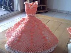 """Résultat de recherche d'images pour """"tuto robe barbie crochet"""""""