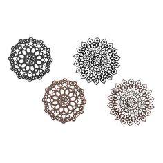 Laser Cut Snowflake Ornaments