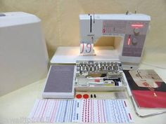 Bernina 1240 Sewing Machine Full Function Excellent Condition !! Check Perfect