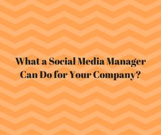 Lear more how a Social Media Manager can help your Business^s Online Presence.     . . . . #socialmediamanager #digitalmarketing #companies #company #business #marketingideas #marketing #smallbusinesses