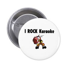 I Rock Karaoke Button