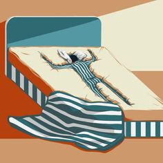 Deep Sleep by conceptual illustrator ©Eric Chow. Represented by i2i Art Inc. #i2iart