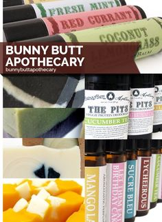 Bunny Butt Apothecary | 10 Cult Beauty Brands On Etsy You Had No Idea Existed (via BuzzFeed)