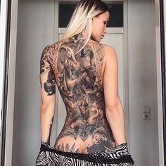 tattoo kit in Tattoo and Body Art Products Tattoo Girls, Girl Tattoos, Tattoos For Women, Tattooed Women, Hot Tattoos, Body Art Tattoos, Tattos, Tattoo Ink, Back Tattoo