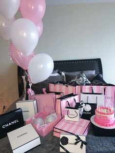 Chanel and vs birthday