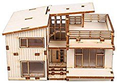 Hand made wood house in popsicle sticks/ LOG CABINS | Hampton virginia | Arts | Items For Sale | deal Classified Ads