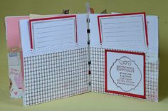 ideas for pockets on scrapbooks