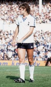 Glenn Hoddle 1979 Tottenham Hotspur football v Man City