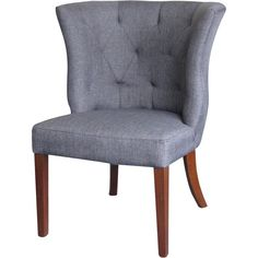 Grey Chair, I Like The Color For My Living Room Chairs · Wing ChairsWingback  ChairsHigh Back ...