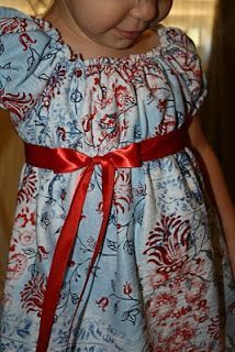 The Most Pleasant Peasant Dress - made without pattern -- need measurements for length, sleeve length, and waist