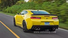This is what a 2017 Chevy Camaro Z28 could look like
