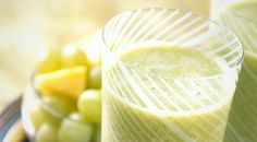 For a refreshing snack, this Grape and Green Tea Smoothie is the answer. It includes pineapple, green tea, and delicious #GrapesfromCA!
