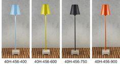 Lucca 456 staande schemerlamp in 4 kleuren met E27 fitting, H=140cm, 230V / IP44 - Led verlichting shop, led lampen