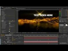 Adobe after effects Tutorial #5 Particle effects - YouTube