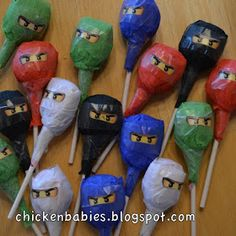chicken babies: Ninjago Birthday Party
