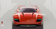 F40 re-imagined  |  Carbon Sketch lab