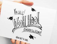 Graduation Card, Funny Graduation Card, Congratulations Grad, Graduation Gift, College Graduation High School Grad, Paper Goods, Cards,Blank on Etsy, $4.00