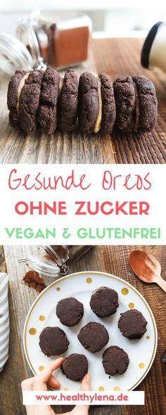 Gesunde Oreos vegan glutenfrei ohne soja ohne Zucker lecker einfach