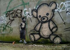 even angry kids love teddies | l.e.t.#Repin By:Pinterest++ for iPad#