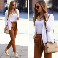 Classy Work Outfits For Women This Fall, Classy Work Outfits For Women This Fall. Classy Work Outfits For Women This Fall, Classy Work Outfits For Women This Fall Best And Stylish Business Casual Work Outfit For Women 01 classy work. Classy Work Outfits, Summer Work Outfits, Work Casual, Chic Outfits, Trendy Outfits, Fashion Outfits, Winter Outfits, Casual Office, Blazer Outfits