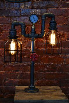 Creative arts lampe loft personnalit bar restaurant de for Lampe de table de nuit