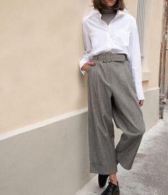 Tweed pant #backinstock #tomboy #menswear #frankiegirl #thefrankieshop