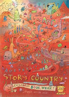 The Bird King: 2016 Book Week Poster - Australia: Story Country!