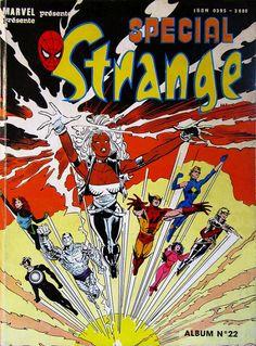 Spécial Strange -REC22- Album N°22 (du n°64 au n°66) 1990