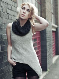 Beginner knit your own cowl
