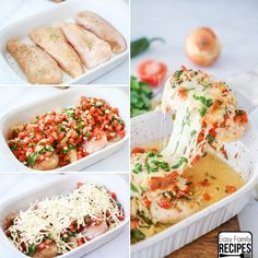 This Salsa Fresca Chicken makes an unbelievably delicious meal full of fresh flavors. The tender chicken is seasoned with spices, then smothered in freshly made salsa and baked with rich cheese over top, for dinner that is equally wholesome and Tasty. Since it only has a few simple ingredients and is all baked in one...Read More